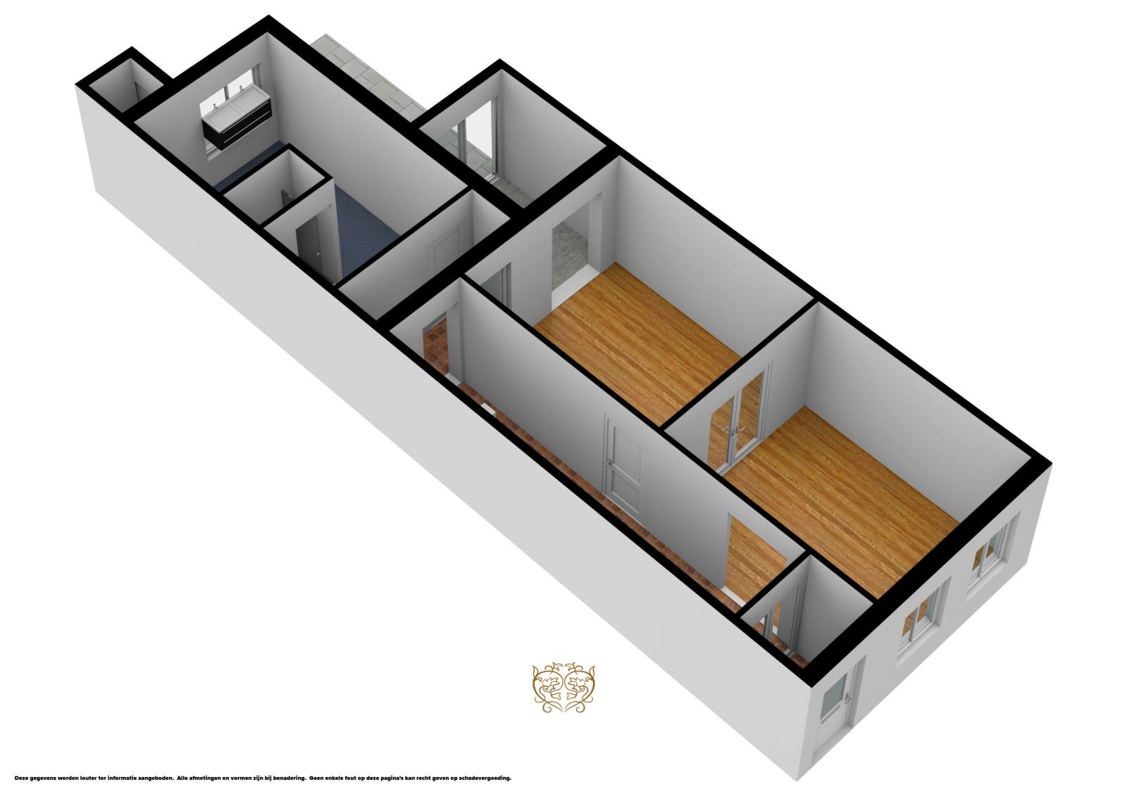 Bel-étage Berchem 2600